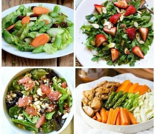 30 Delicious Salads for Spring and Summer - An Alli Event