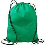 Liberty Bags Drawstring Bag 8886 Value Backpack Kelly Green One Size | The Deal Rack