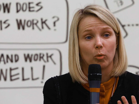 Marissa Mayer's New Rule For App Design - Business Insider