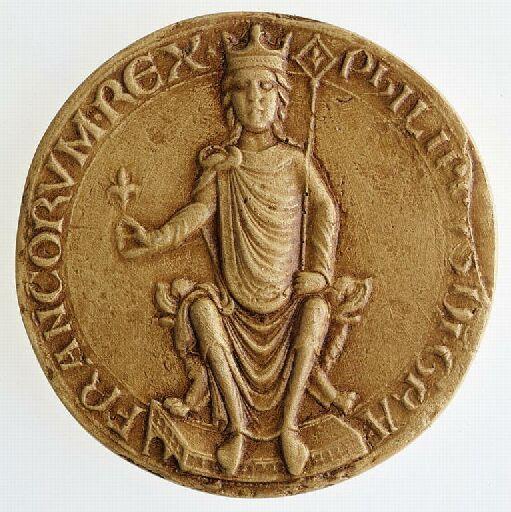 File:Sceau de Philippe Auguste. - Archives Nationales - SC-D157.jpg