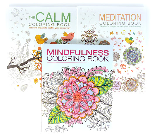 The Mindfulness Adult Coloring Book Collection