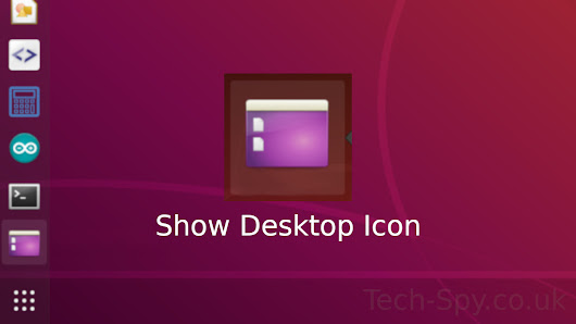 How to add Show Desktop Icon to Ubuntu Dock - Technology Spy