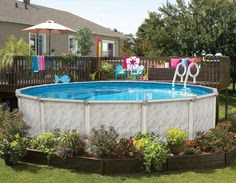 Ground Pools on Pinterest