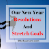 Our New Year Resolutions And Stretch Goals - 99to1percent