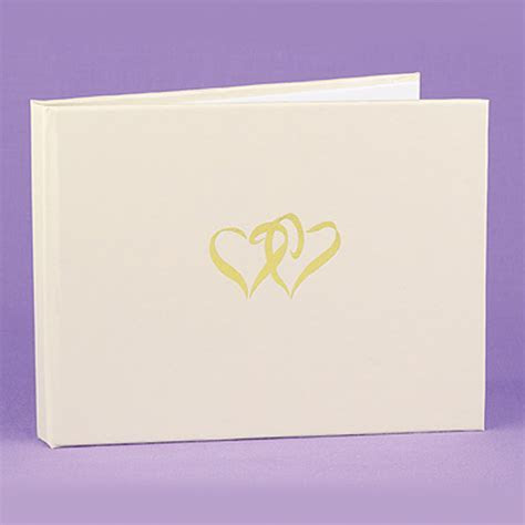 Ivory Wedding Guest Book