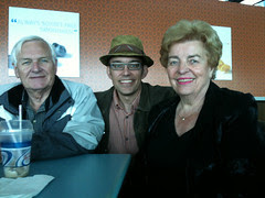 Dad, me, and Mom at YVR
