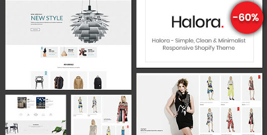 Halora - Simple, Clean & Minimalist Responsive Shopify Theme