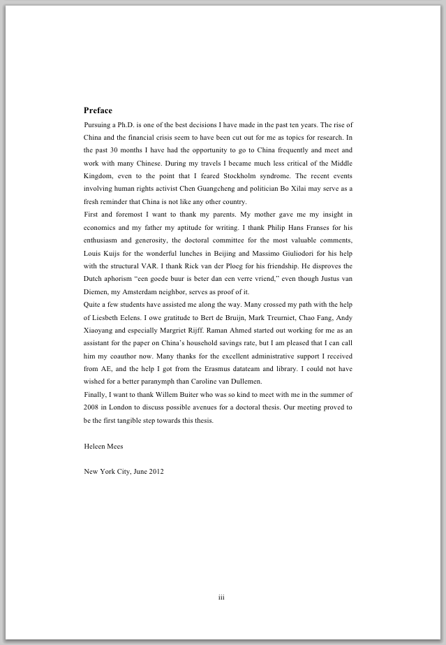 Doctoral Dissertation Phd Thesis Acknowledgement Sample - Thesis Title  Ideas For College