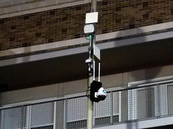 security camera 6th & Race