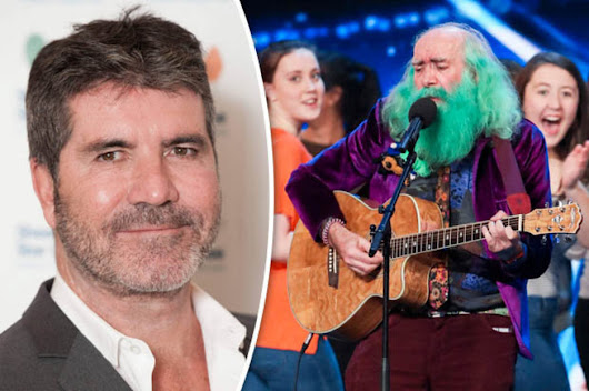Britain's Got Talent's green bearded singer Steve Andrew moonlights as a wizard