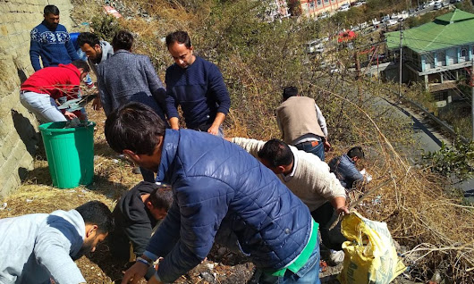 Response to Shimla STPI cleanliness drive depicts poor psycho-social conditioning
