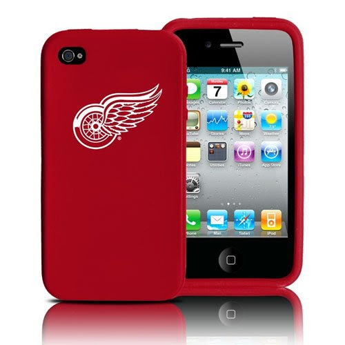 Detroit Red Wings iPhone 4 and 4S Case: Silicone Cover
