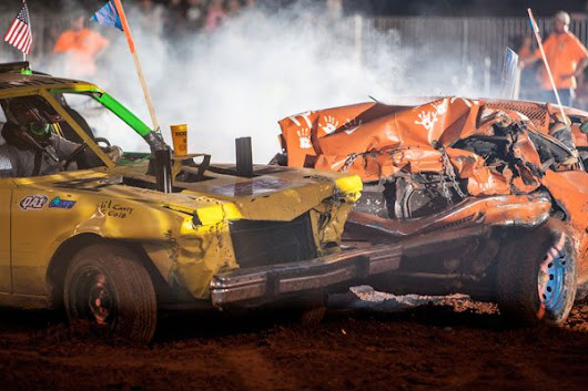 DEMOLITION DERBY - Blue Stakes of Utah 811