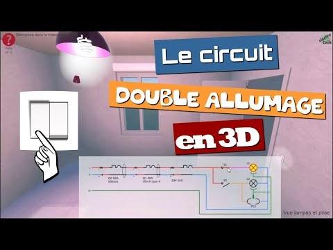 Branchement Interrupteur Double Allumage Virtuelle
