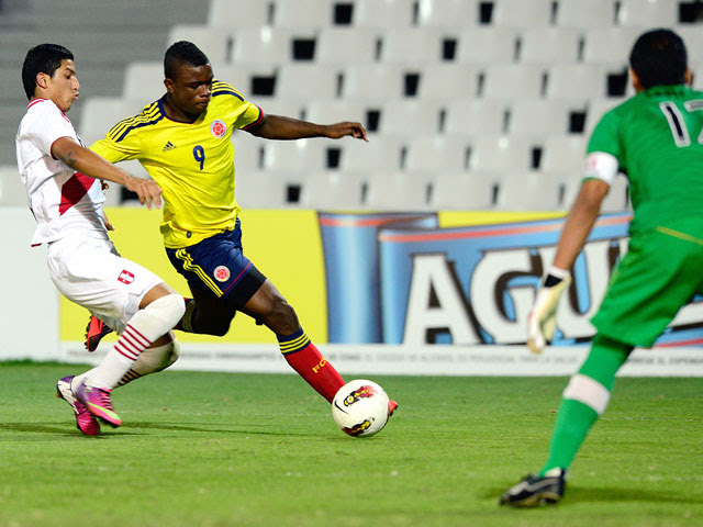 PERU 0 - COLOMBIA 1