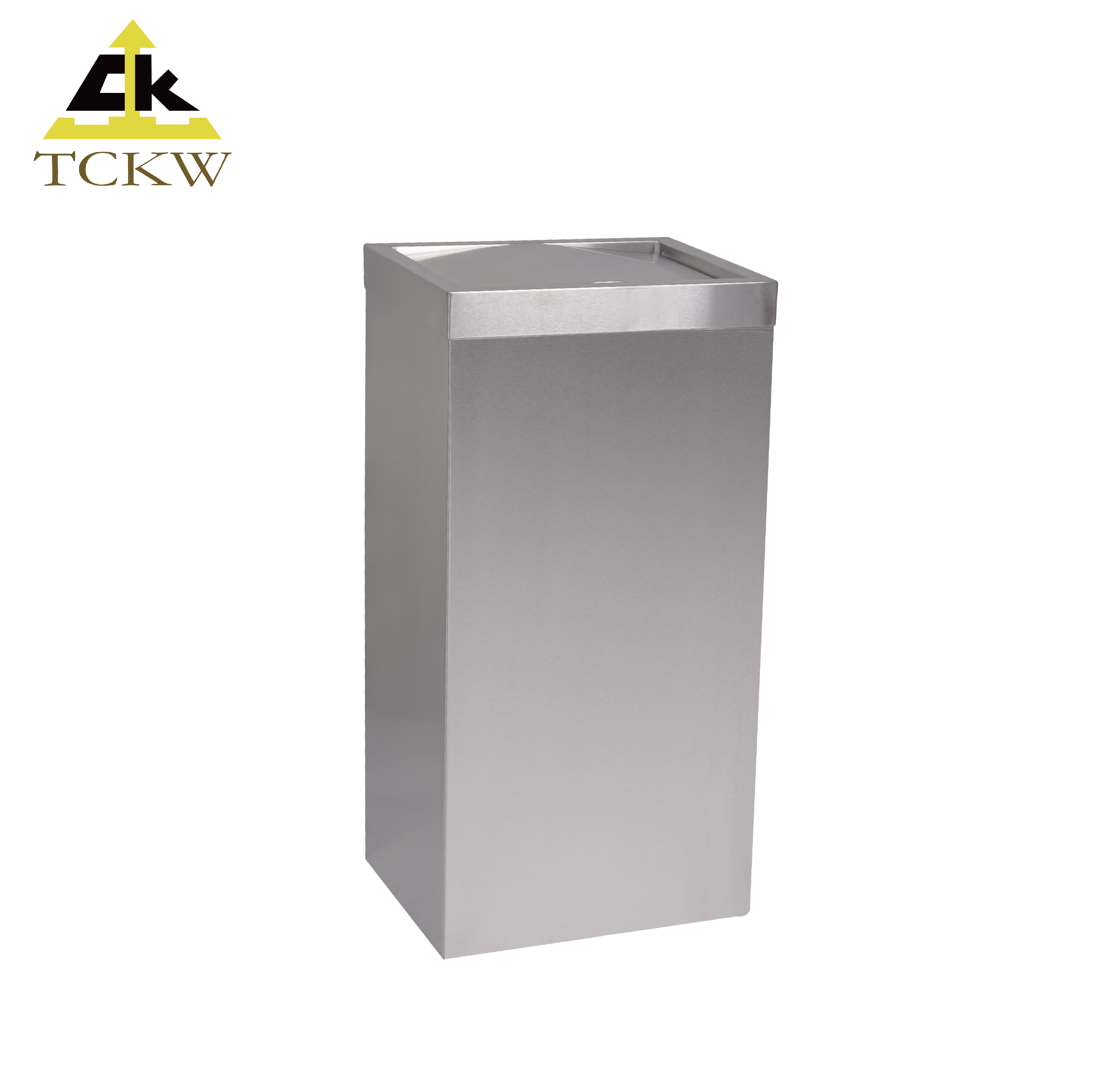 Swing Top Waste Bin Stainless Steel Bathroom Trash Can Buy