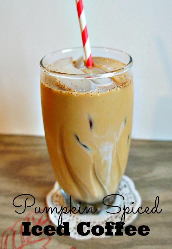 Seattle's Best Coffee Pumpkin Spiced Iced Coffee Recipe #GreatTaste - The Rebel Chick