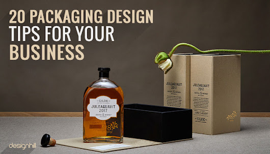 20 Packaging Design Tips For Your Business
