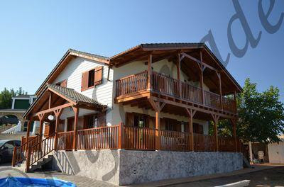 Casas de madera prefabricadas balcan house catalogo - Casas prefabricadas en leon ...