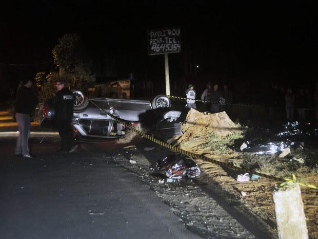 Racha, Mogi das Cruzes, seis mortos (Foto: Cristiano Novais/CPN/Estadão Conteúdo)