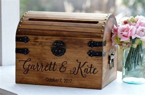 17 Best ideas about Rustic Card Boxes on Pinterest   Card