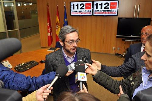 Fernández en el 112