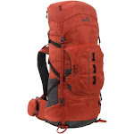 ALPS Mountaineering 2336829 Red Tail 65 Backpack Polyester Chili