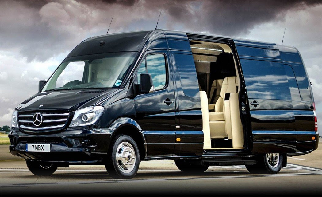 This $300K customized Mercedes van's interiors will put a ...