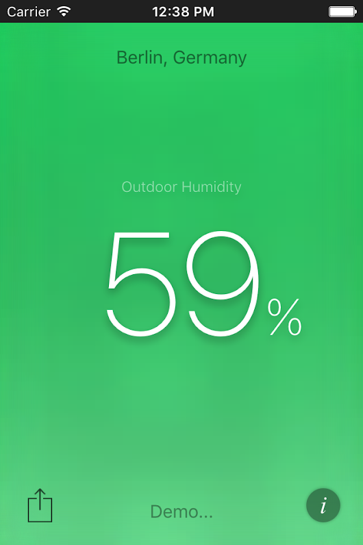 Humidity - New App for iOS and Android
