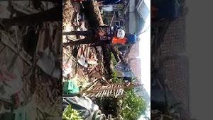 Angin puting beliung hantam rumah Lilis di sukasari kecamatan cilaku, Cianjur