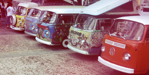 End of an Era: the last of the Hippie vans.