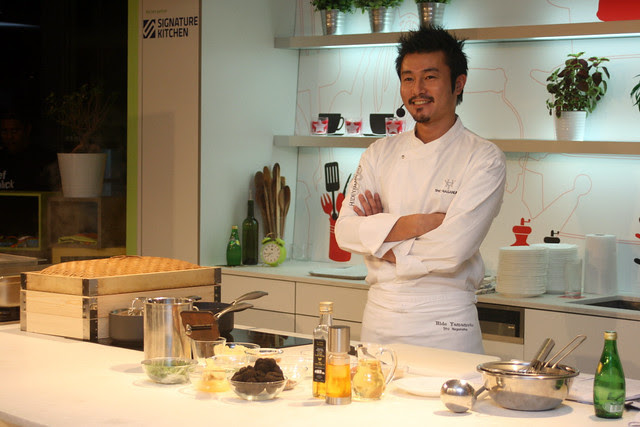 Chef Sho Naganuma is Executive Chef at Hide Yamamoto (Marina Bay Sands)