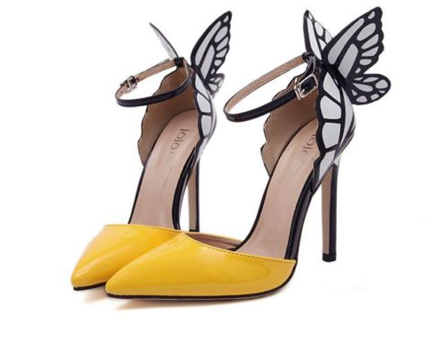 Sophie Webster Replica Butterfly Shoes
