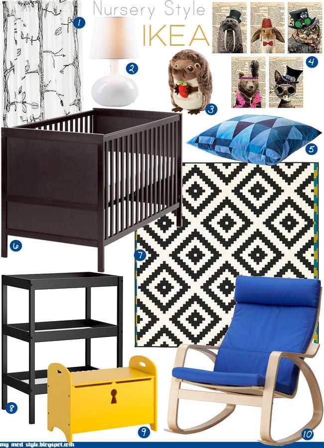 Nursery Style featuring IKEA \\ Aug 2012