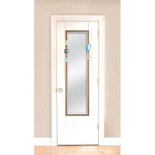 MCSIndustries Over-the-Door Mirror with Cork Surround