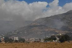 Σε μία χαράδρα στην περιοχή Αετός, στο Κοκκινόχωμα, έχει περιοριστεί η μεγάλη πυρκαγιά, που τα προηγούμενα 24ωρα κατέκαψε την Κάρυστο
