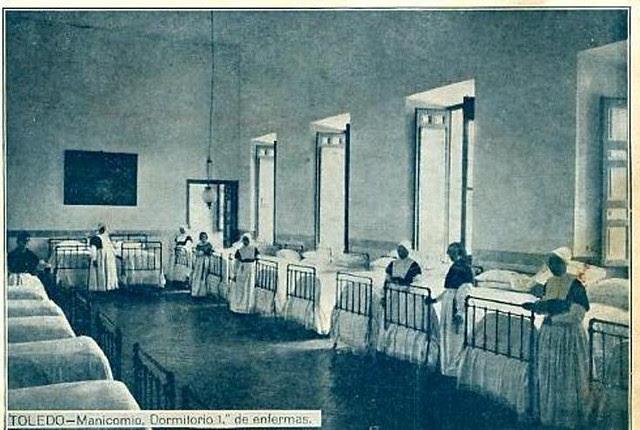 Hospital del Nuncio de Toledo a comienzos del siglo XX. Fotografía Rodríguez