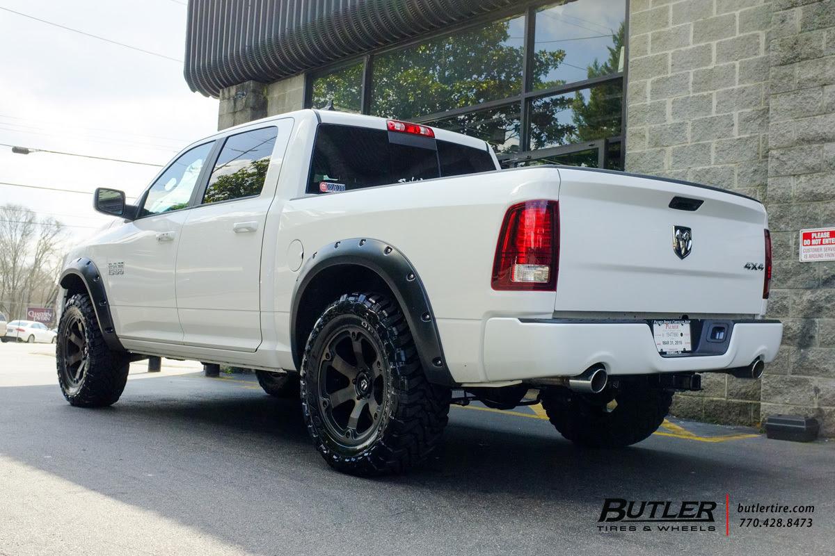 Ram 1500 Custom Wheels Fuel Beast 20x Et Tire Size