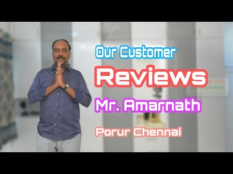 Ramya Modular Kitchen, Our Client Mr. Amarnath Porur Chennai