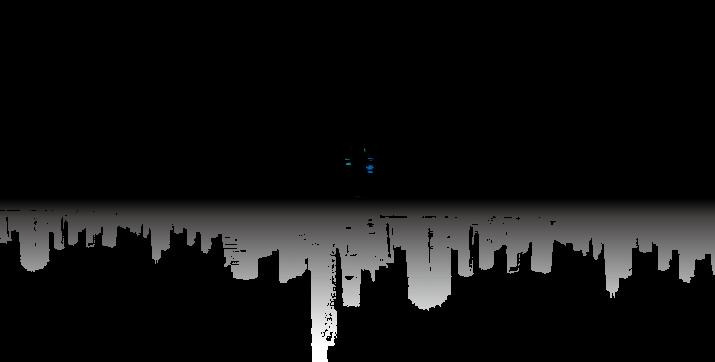 Cityscape Skyline Illustration - Vector city silhouette ...
