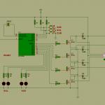 pic16f84 stepper motor mạch điều khiển ổ đĩa
