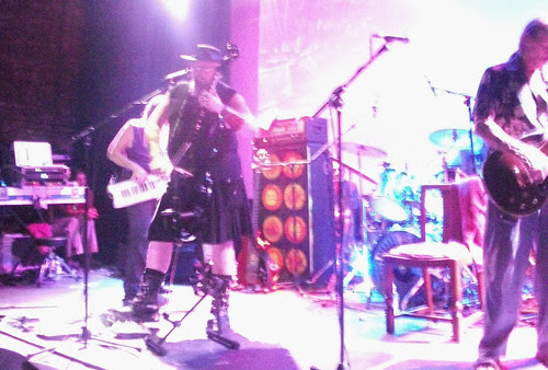 Hawkwind 2012 May 25 - Bridport, while I tweak EV