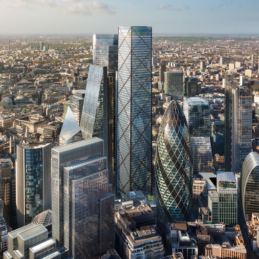 Eric Parry's gets go ahead for City of London's tallest skyscraper