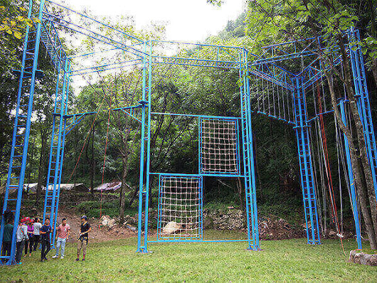 High Ropes Course Favored by People
