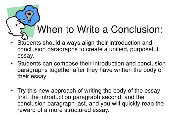how to write an essay introduction and conclusion
