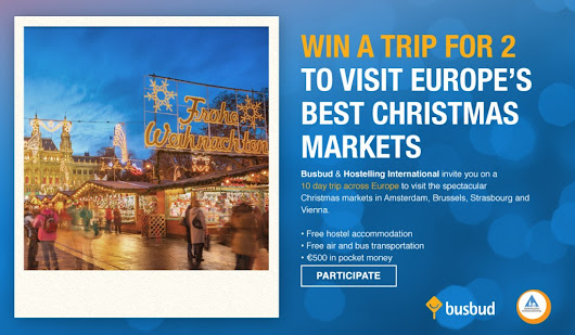 Win a Christmas Market trip around Europe  | HI Hostel Blog