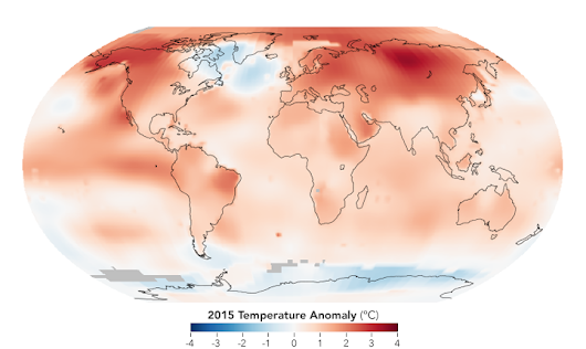 2015 Was the Hottest Year on Record : Image of the Day