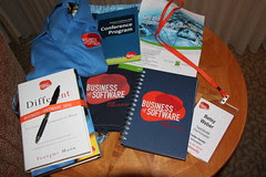 What's in the bag? Business of Software 2010