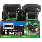 "Reese Secure 9547200 1"" x 12' Heavy Duty Ratchet Strap"