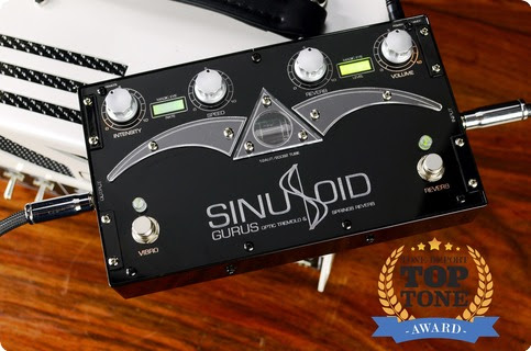 GURUS Sinusoid Tremolo   Reverb 2016 Black Effect For Sale NordSound F:ma